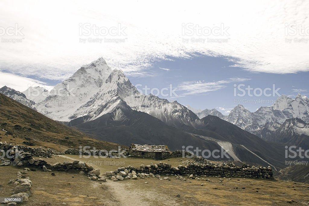 Dusa, Nepal royalty-free stock photo