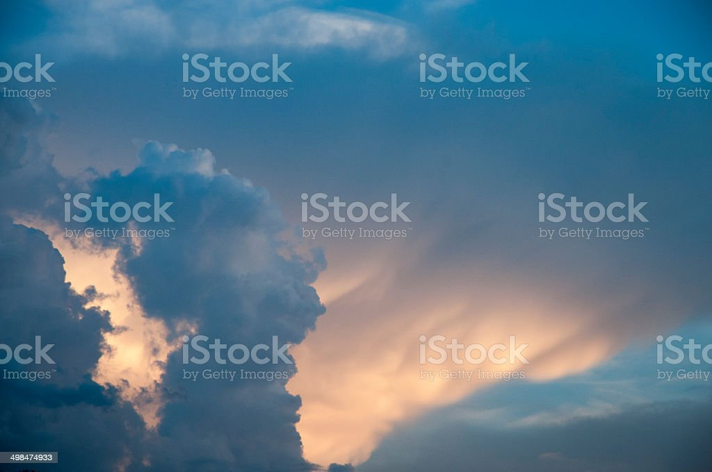 Crépuscule royalty-free stock photo