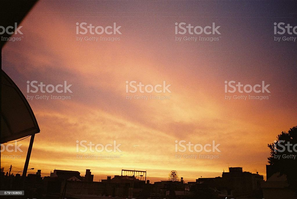 Atardecer stock photo