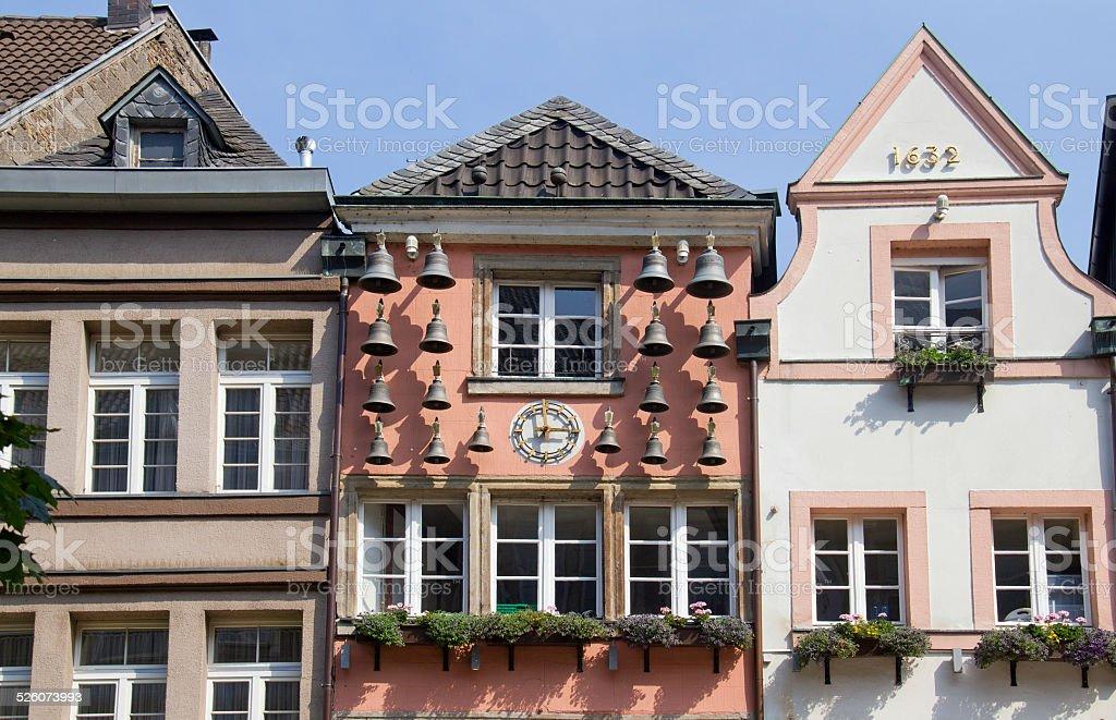 Dusseldorf Altstadt Bells stock photo