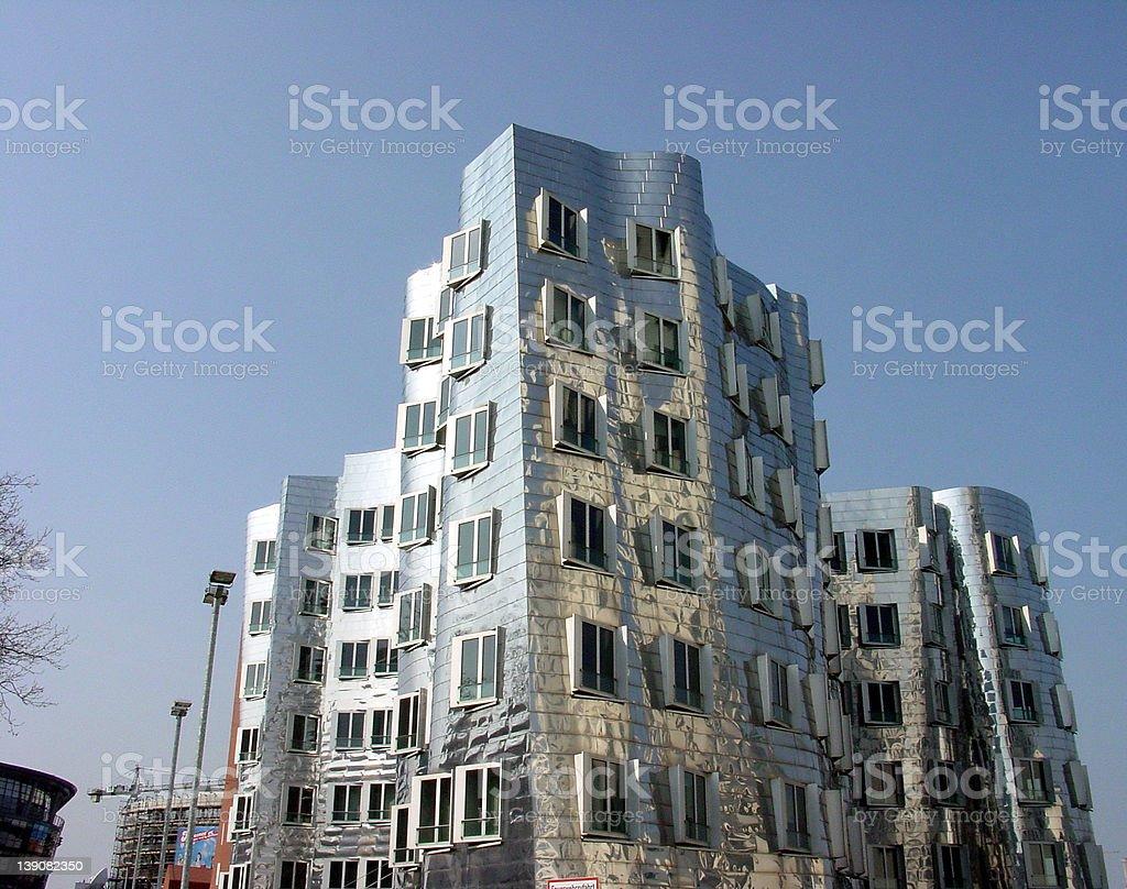 Dusseldorf Harbour royalty-free stock photo
