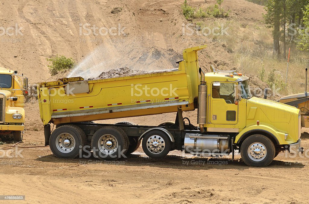 Dust Control royalty-free stock photo
