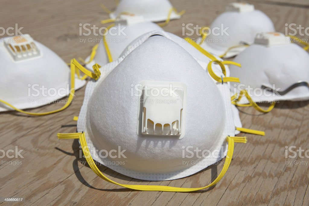 Dust Mask stock photo