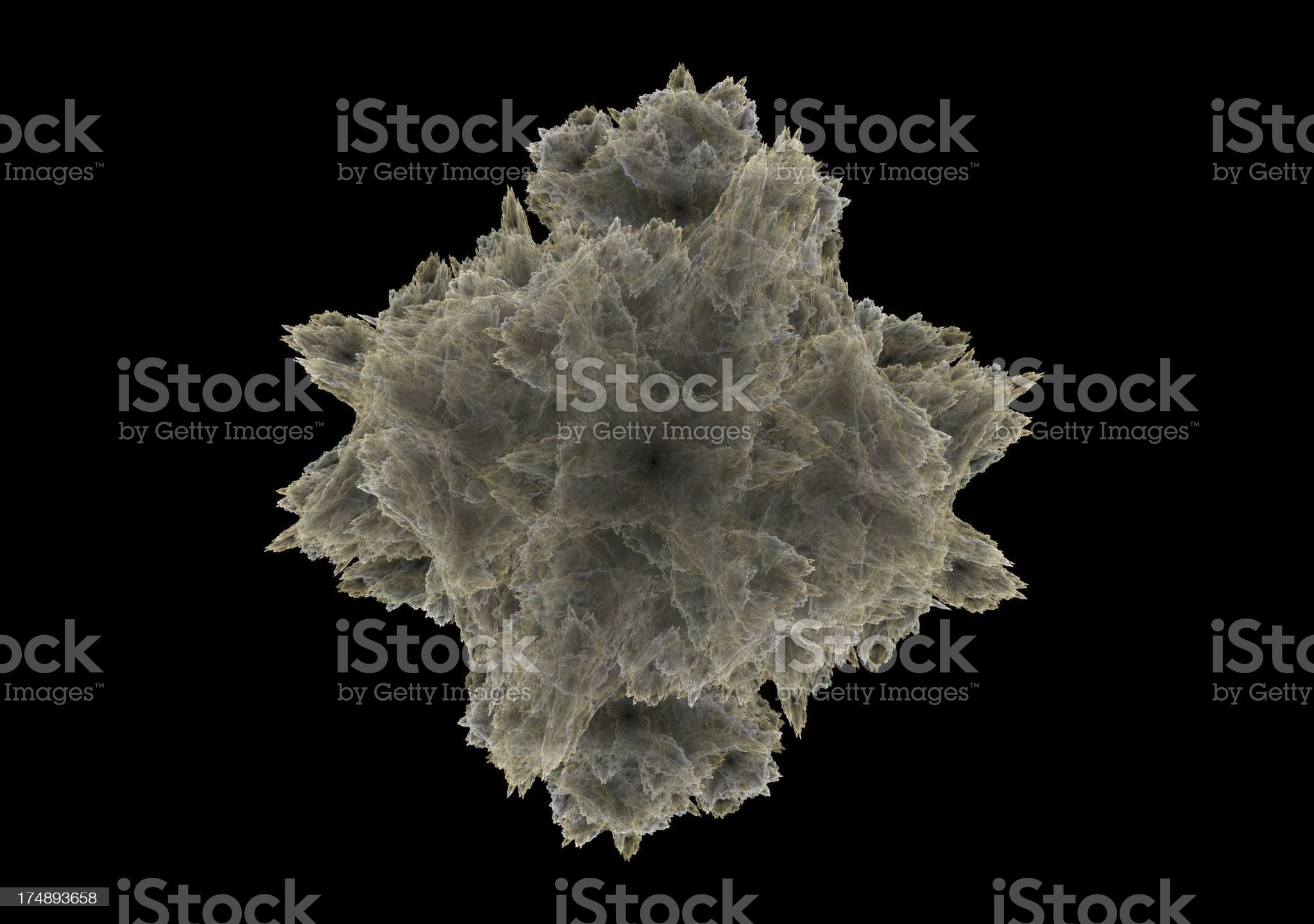 Dust particle royalty-free stock photo