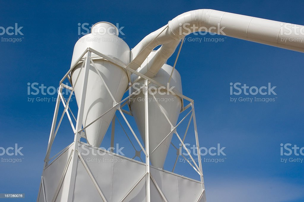 Dust Removal Air Handling System royalty-free stock photo