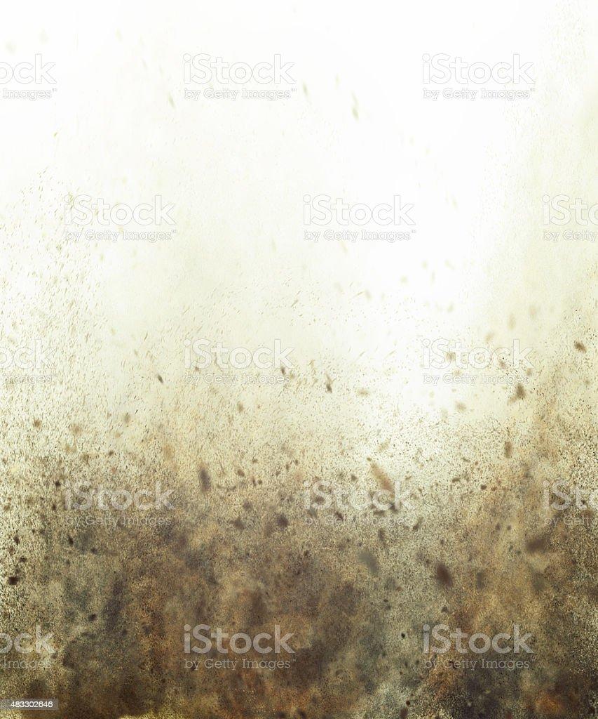 dust storm background stock photo