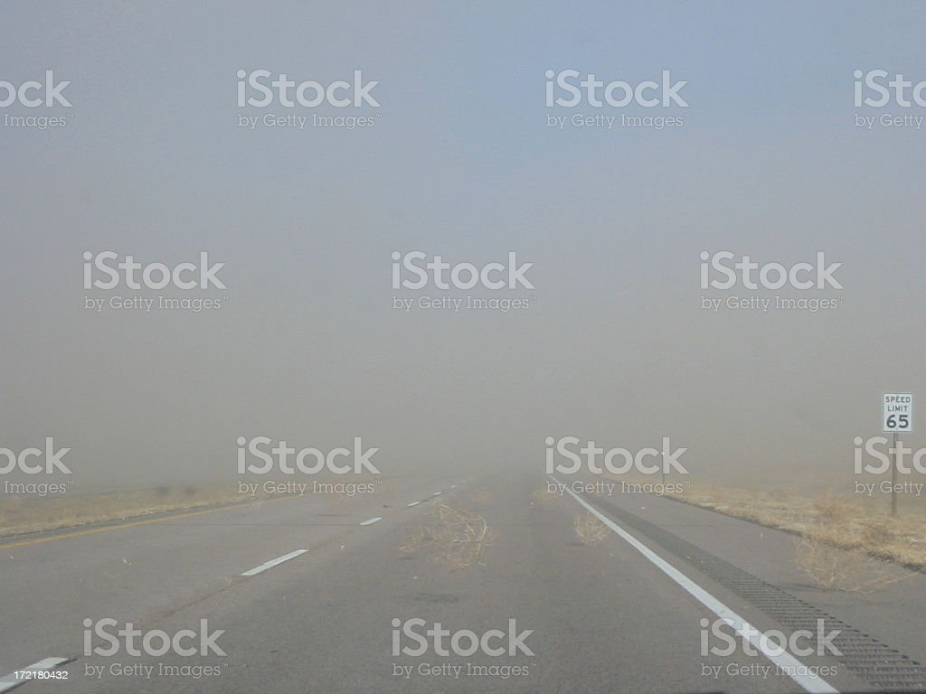 Dust Storm royalty-free stock photo