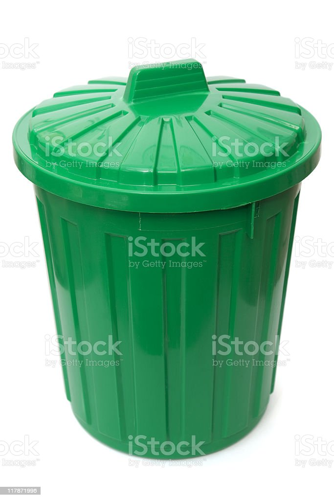Dustbin royalty-free stock photo
