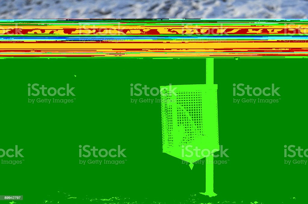 Dustbin royalty-free stock photo