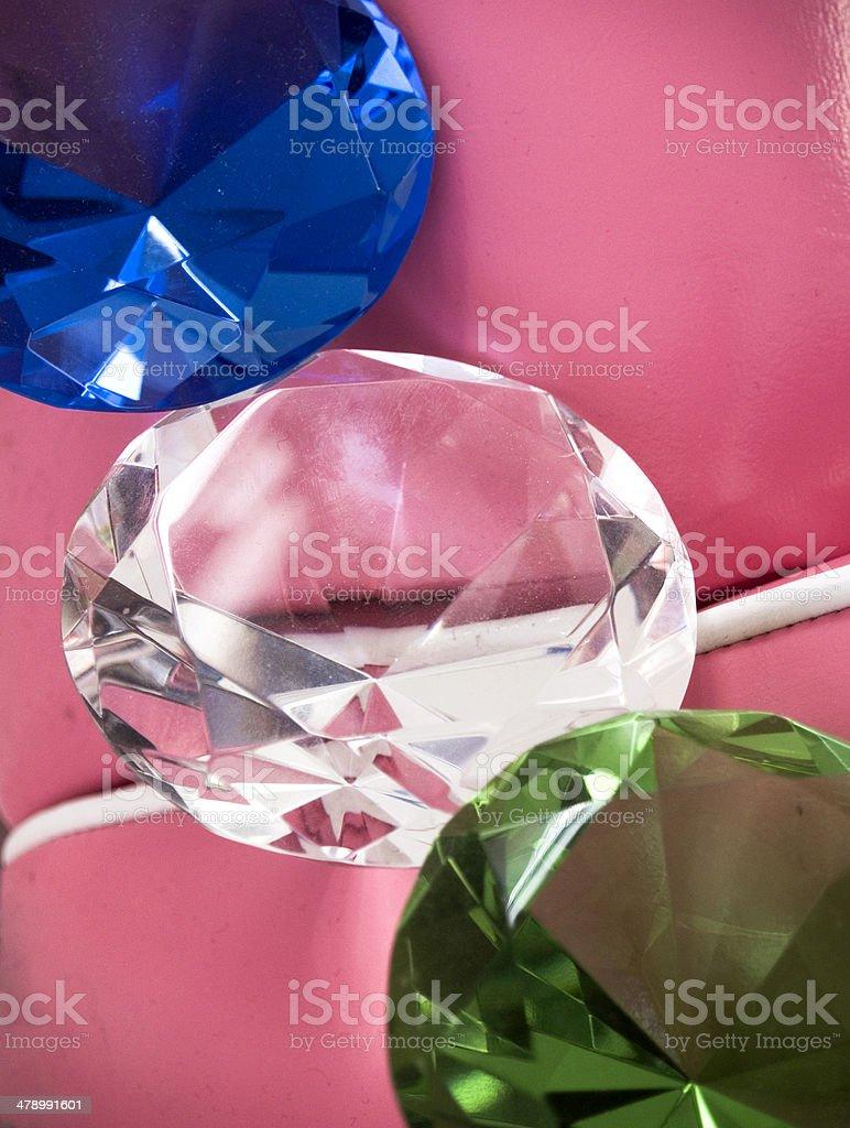 Dusty Crystals.... stock photo