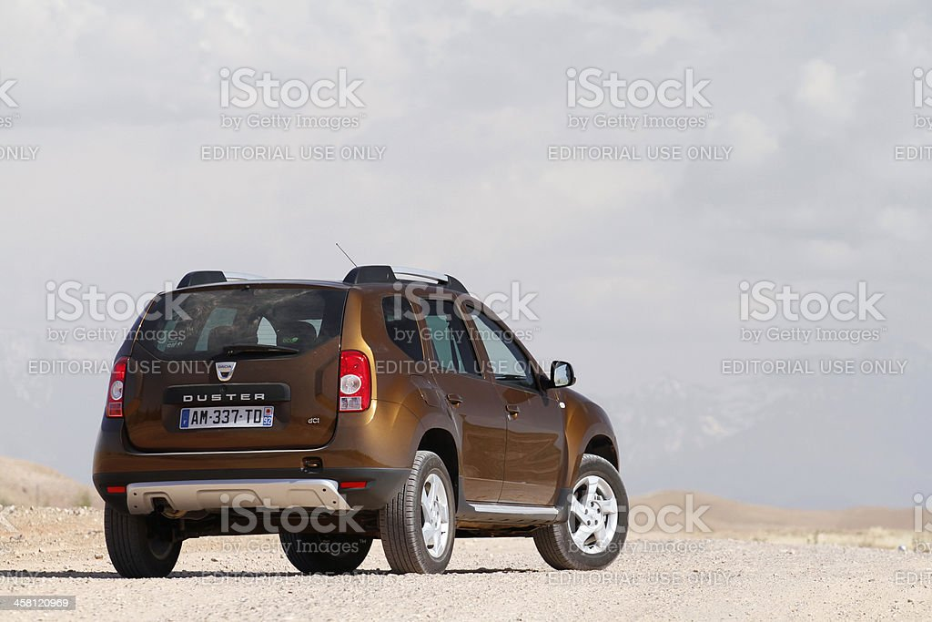 Dusty Duster stock photo