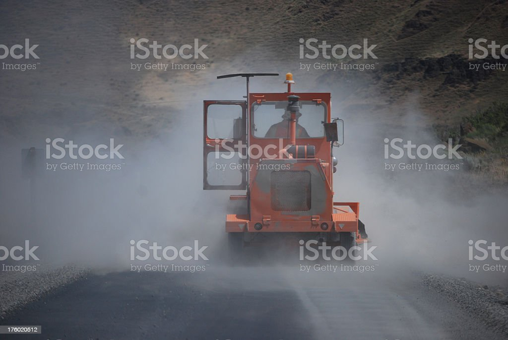Dusty Job stock photo