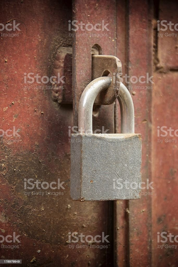 Dusty Lock royalty-free stock photo