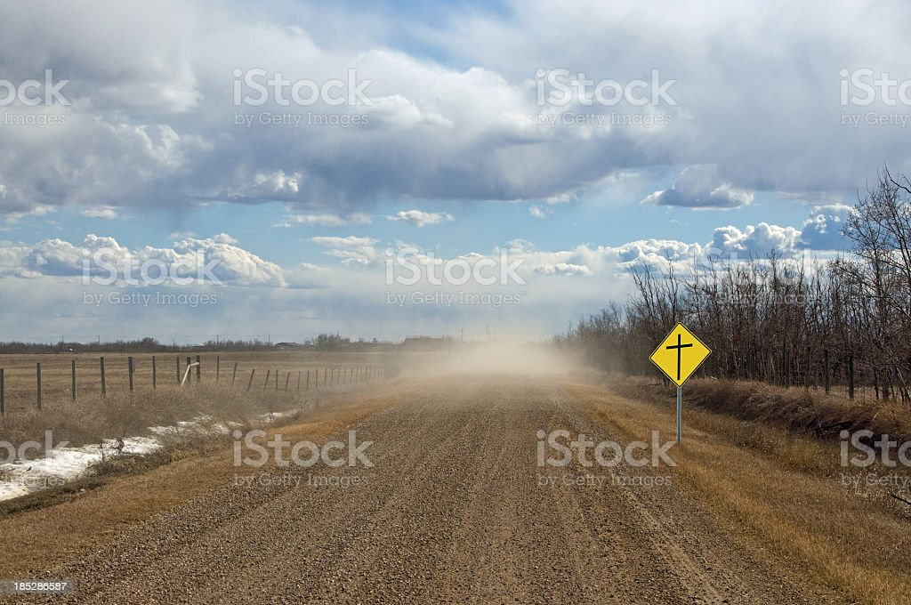 Dusty Road to Heaven royalty-free stock photo