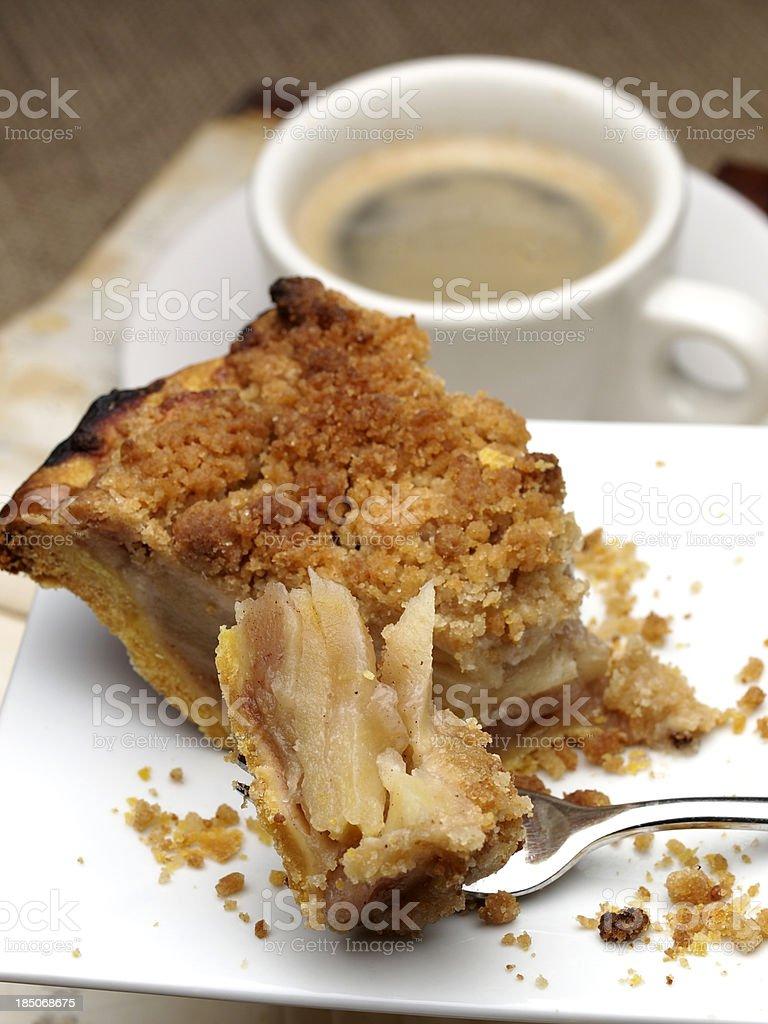 Dutch Apple Pie stock photo