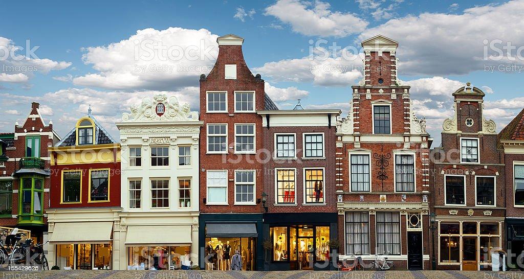 Dutch Architecture royalty-free stock photo