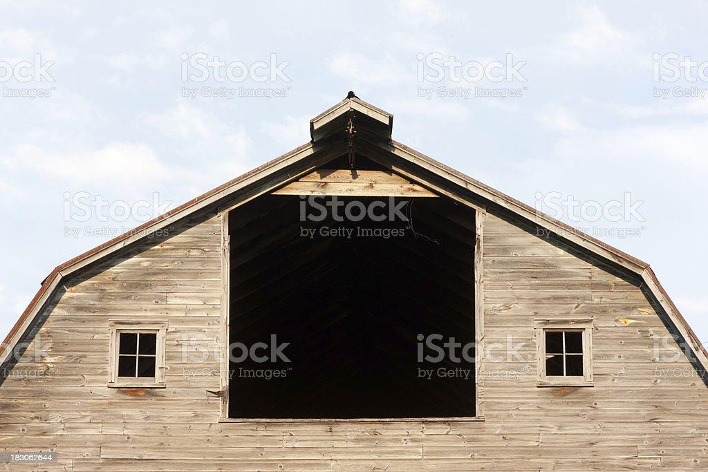 Dutch Barn Profile stock photo