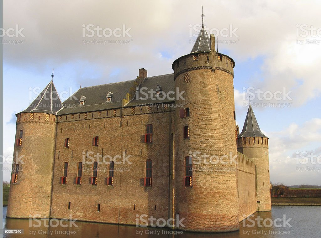 Dutch castle 1 royalty-free stock photo