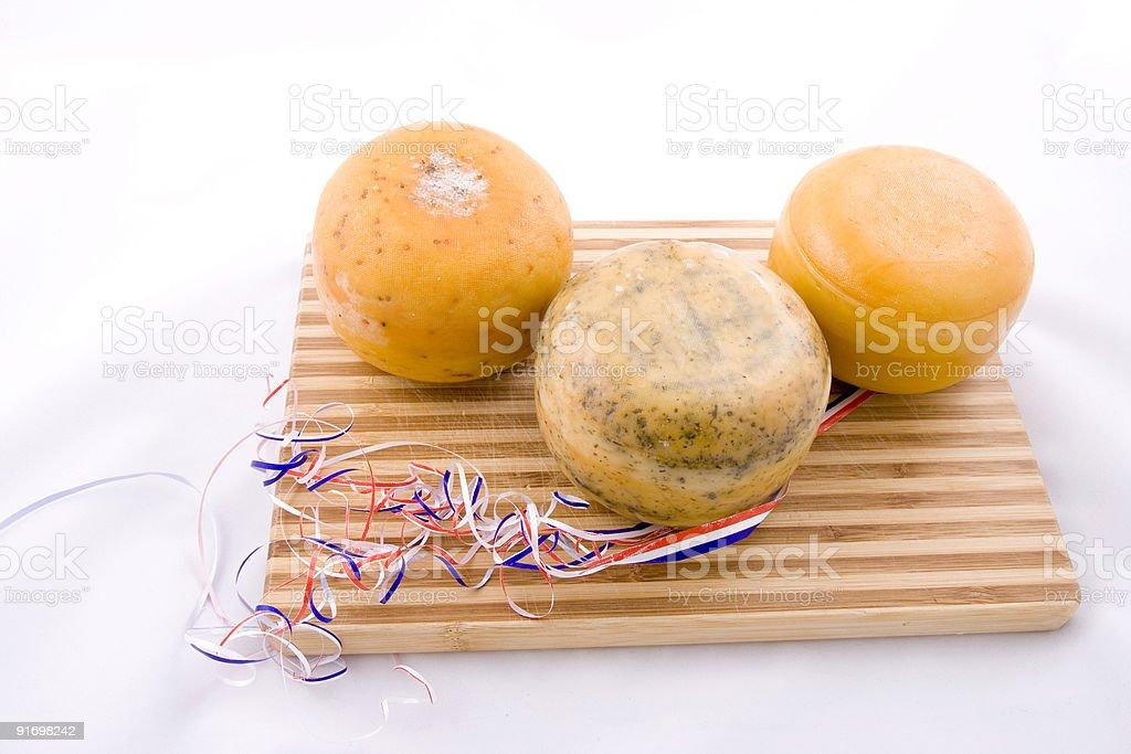 Dutch cheese royalty-free stock photo
