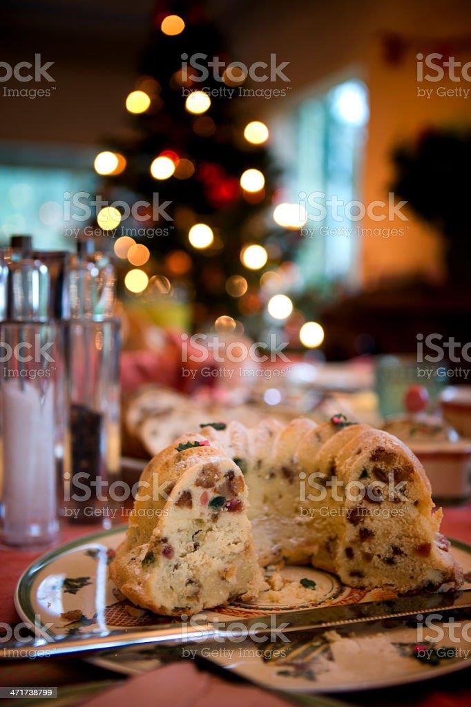 Dutch christmas cake royalty-free stock photo