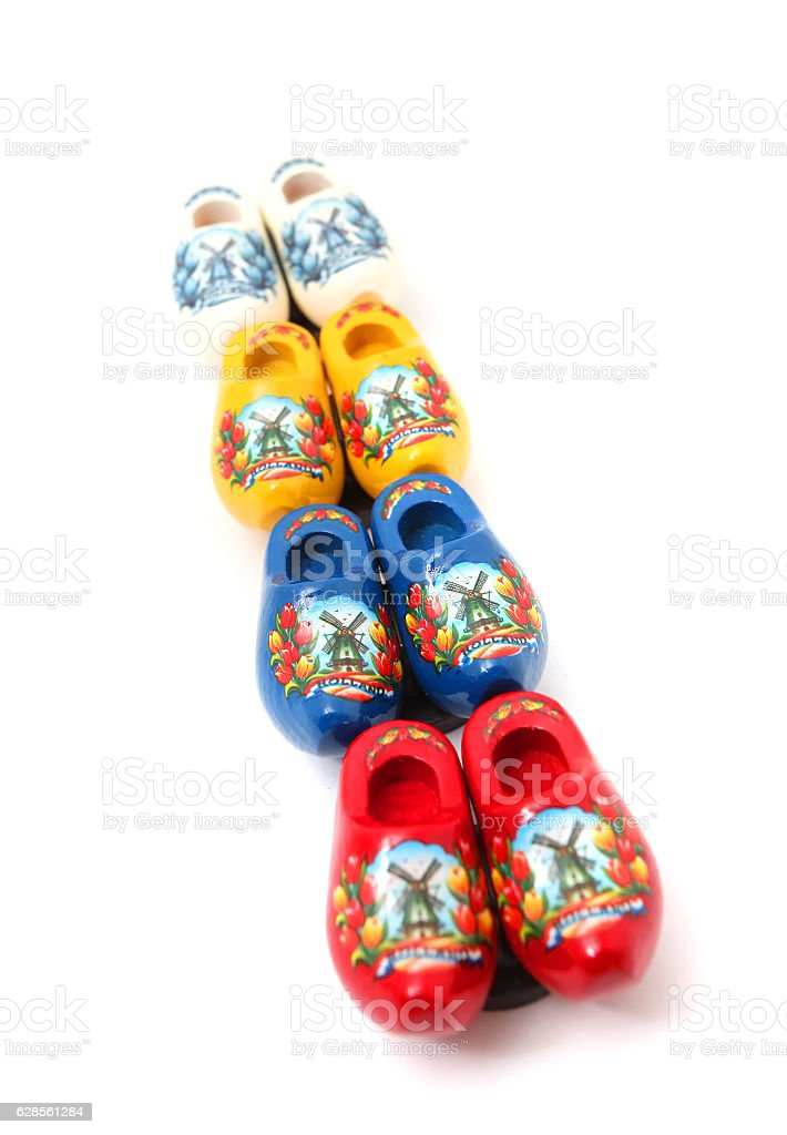 Dutch Clog stock photo