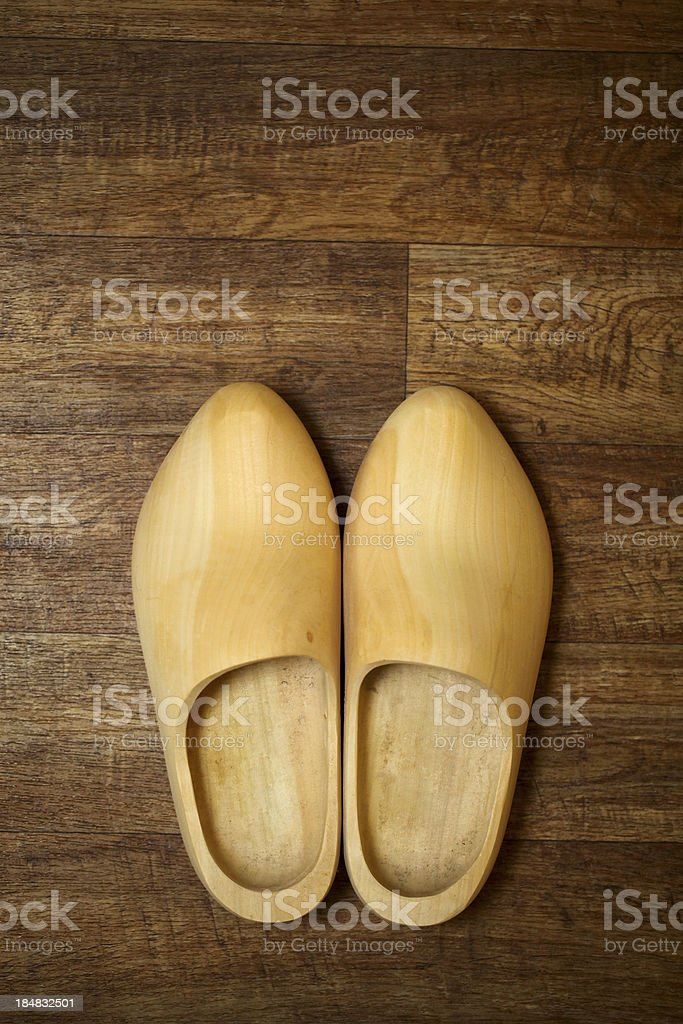 Dutch clogs stock photo