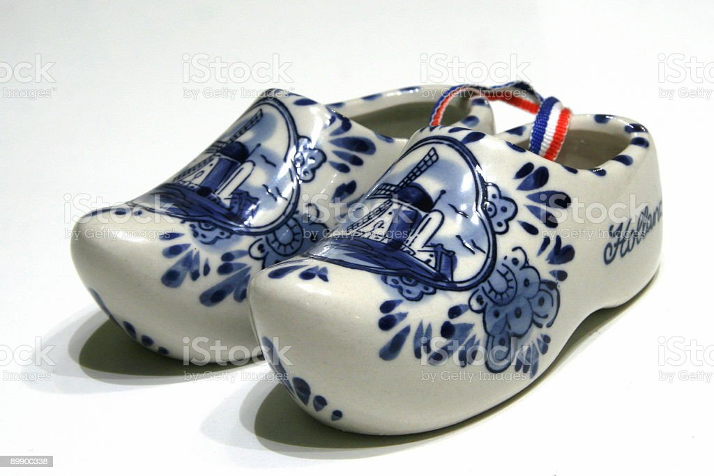Dutch Clogs royalty-free stock photo