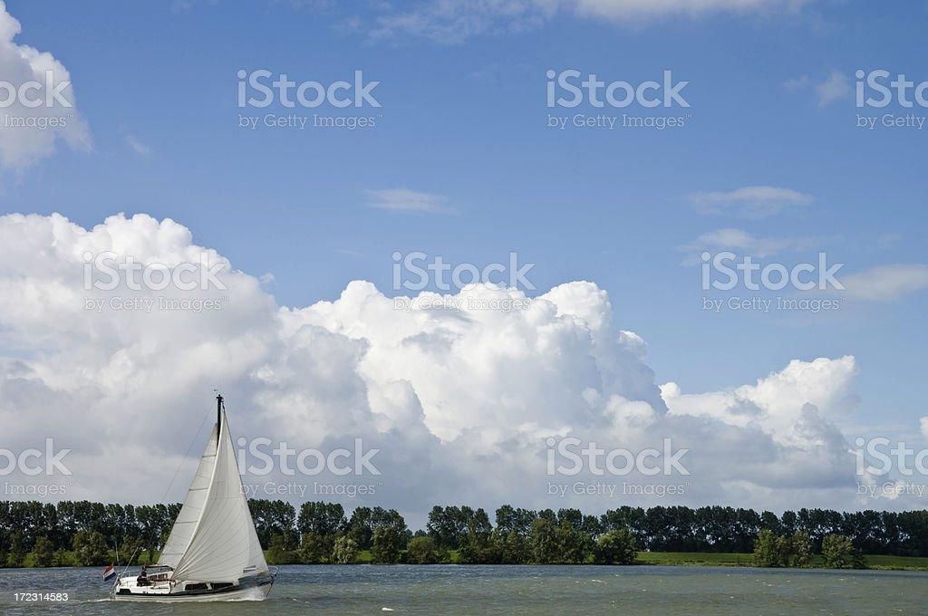 Dutch Cruising royalty-free stock photo