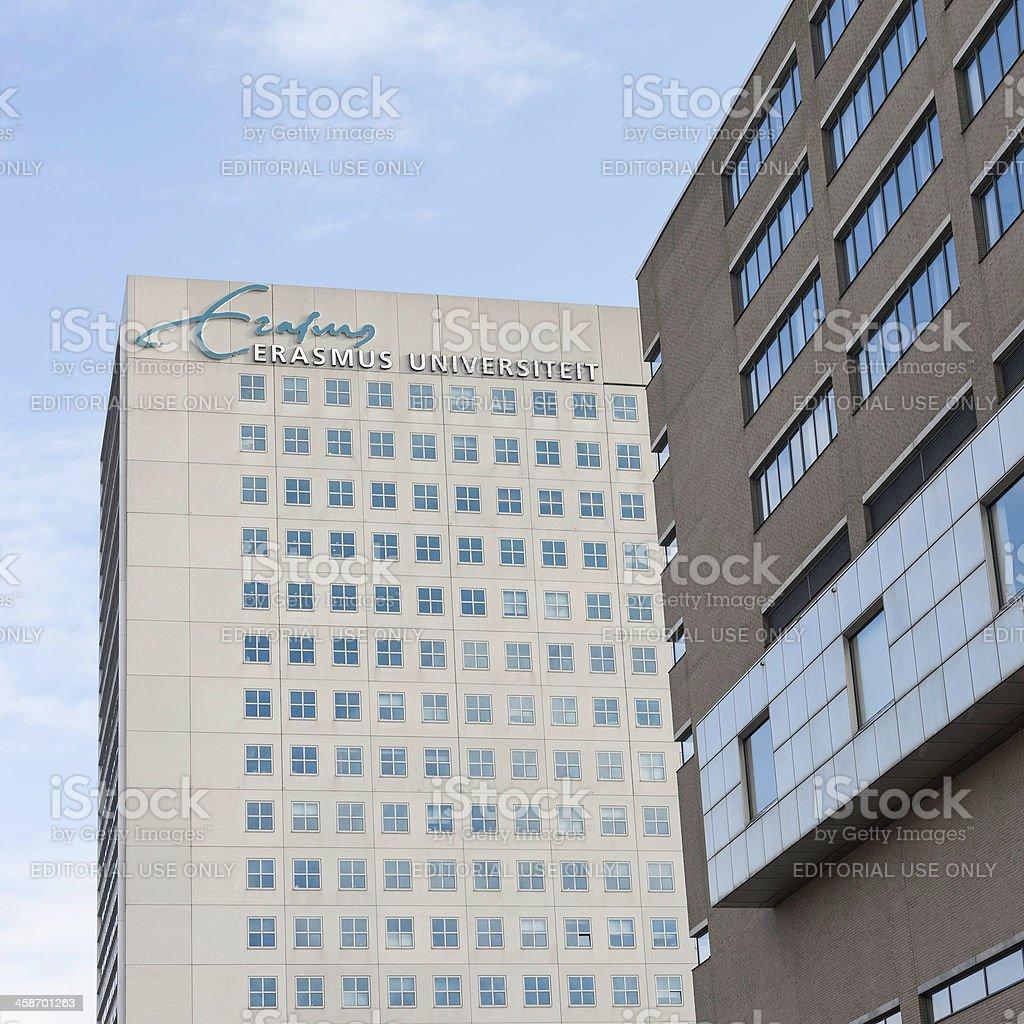 Dutch Erasmus University in Rotterdam stock photo