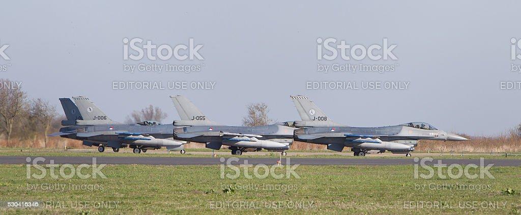 Dutch F-16 stock photo