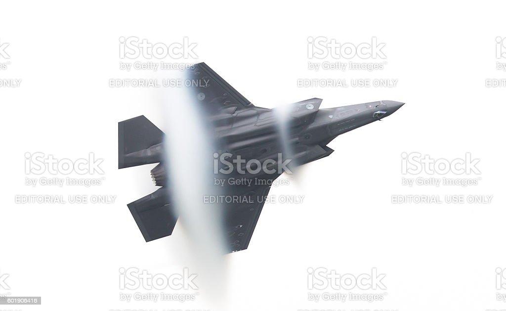 Dutch F-35 Lightning stock photo