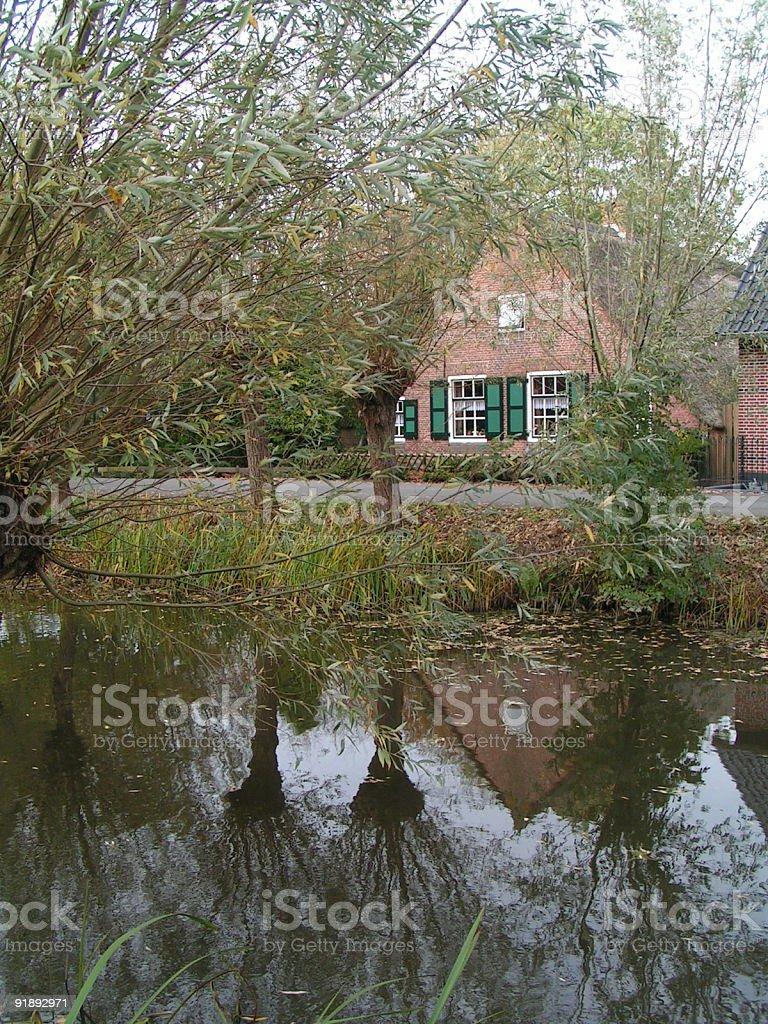 Dutch farm royalty-free stock photo