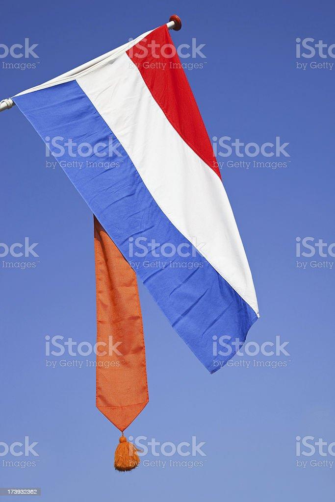 Dutch flag # 6 XXXL royalty-free stock photo
