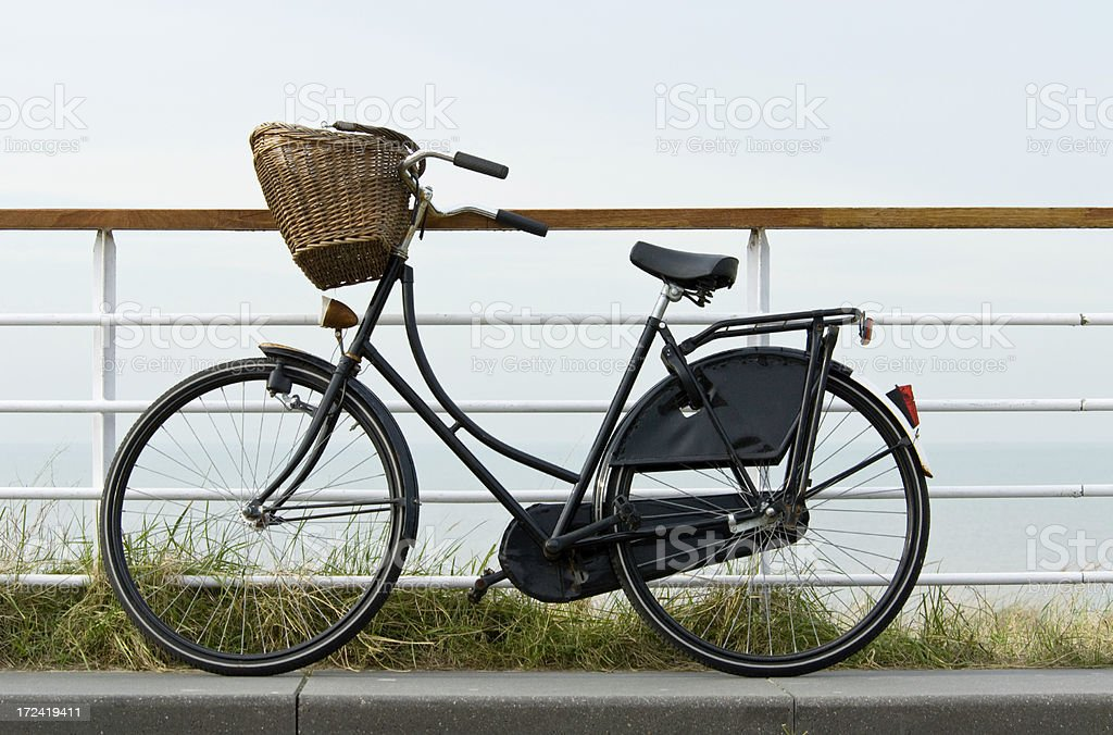 Dutch Granny Bicycle royalty-free stock photo