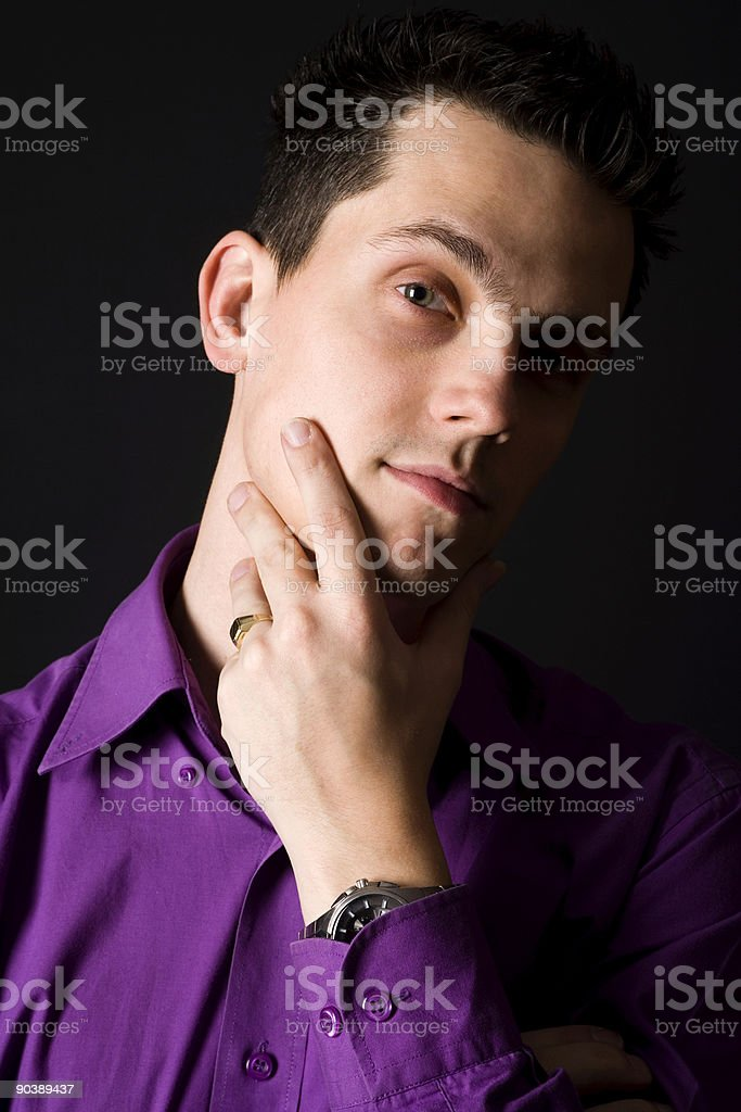 dutch guy stock photo