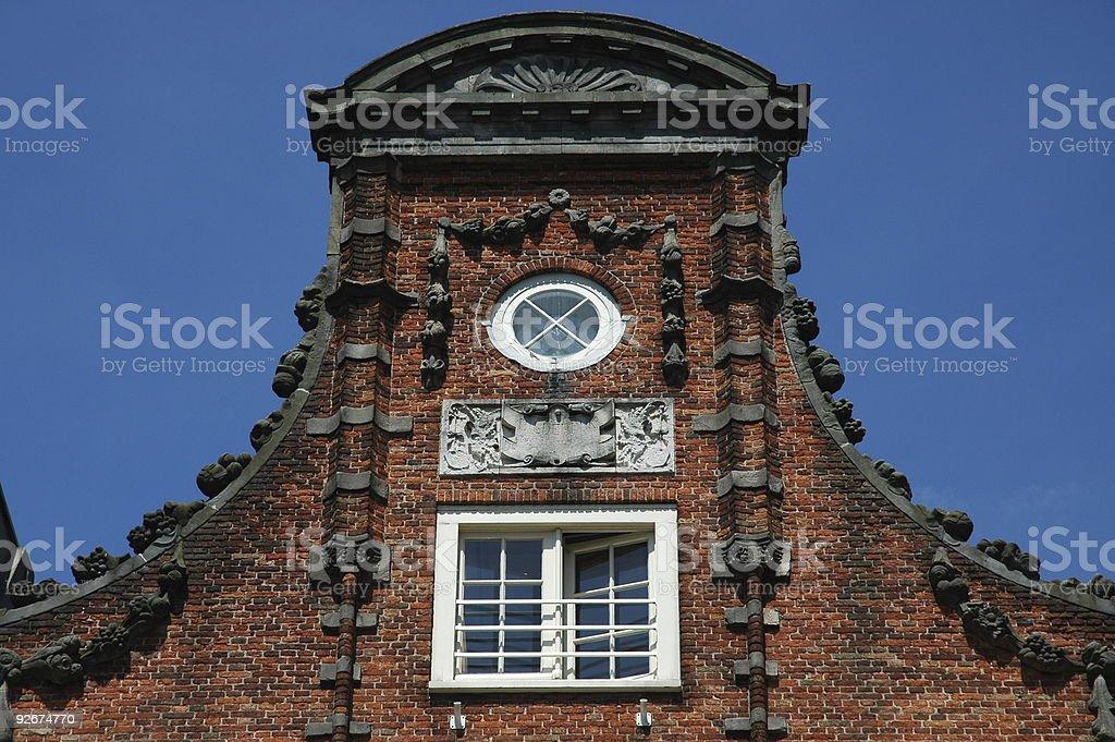 Dutch house royalty-free stock photo