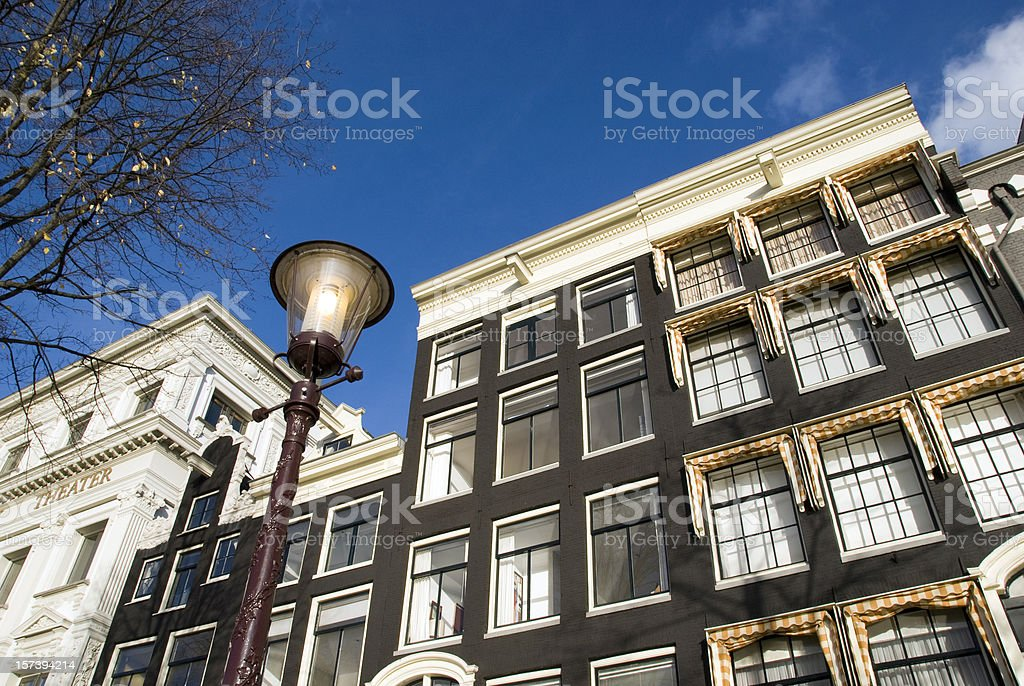 Dutch housing royalty-free stock photo