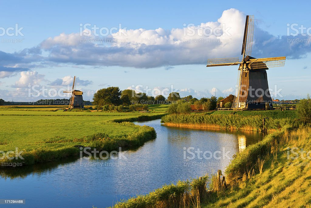 Dutch Landscape stock photo