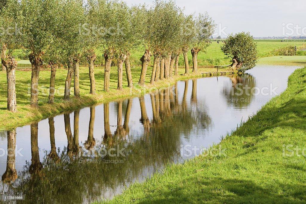 Dutch landscape # 1 royalty-free stock photo