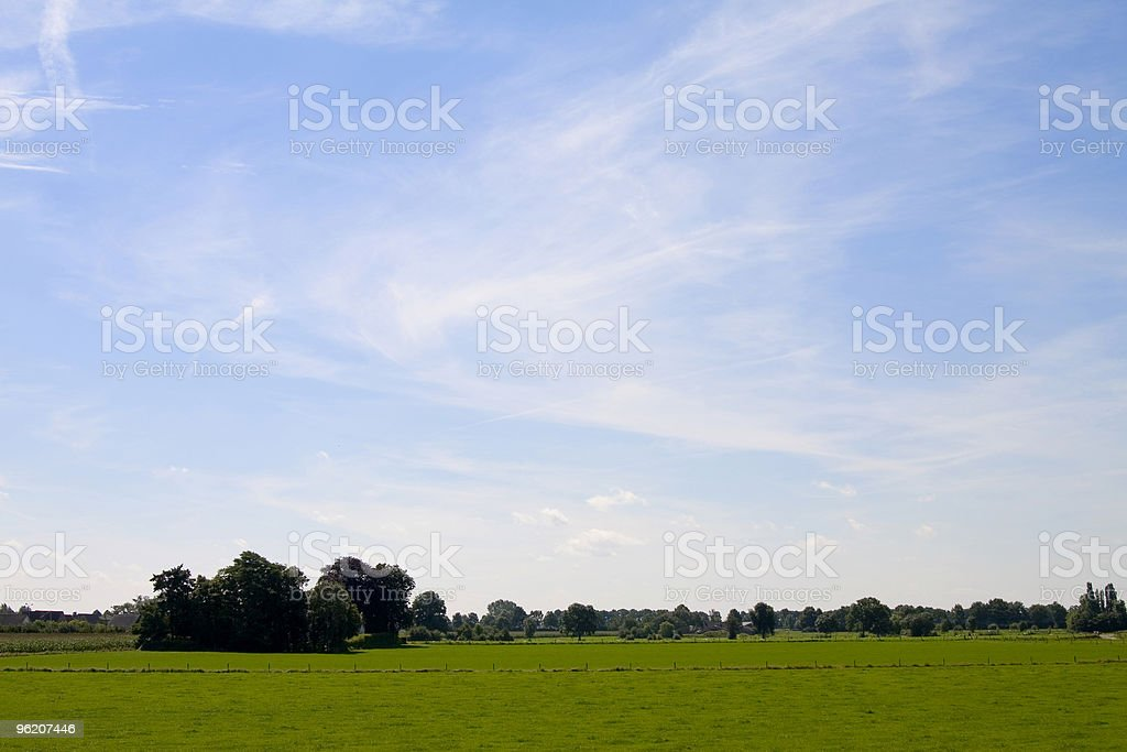 Dutch landscape royalty-free stock photo