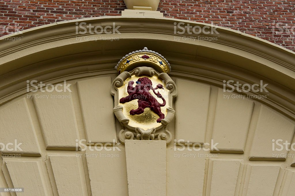 Dutch Lion stock photo