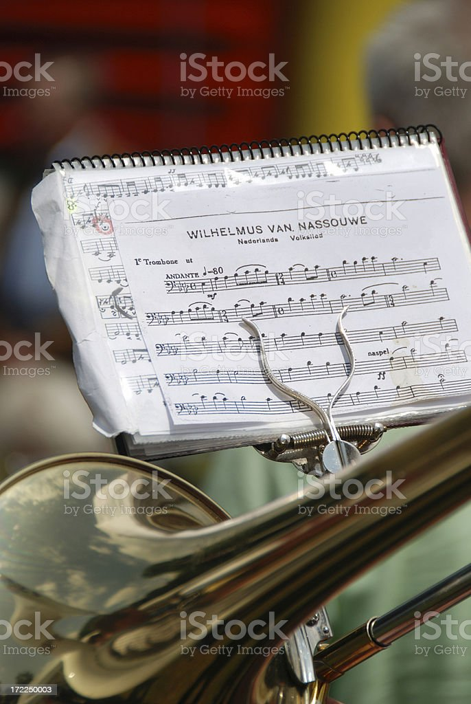 Dutch National Anthem stock photo