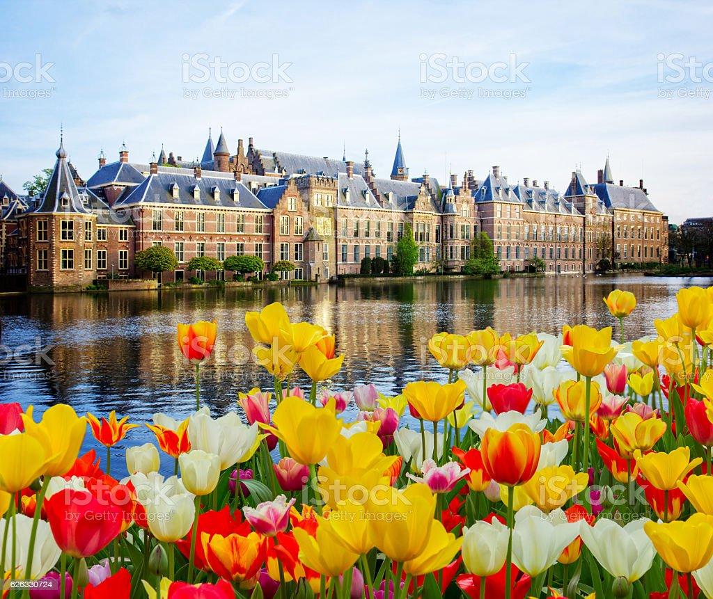Dutch Parliament, Den Haag, Netherlands stock photo