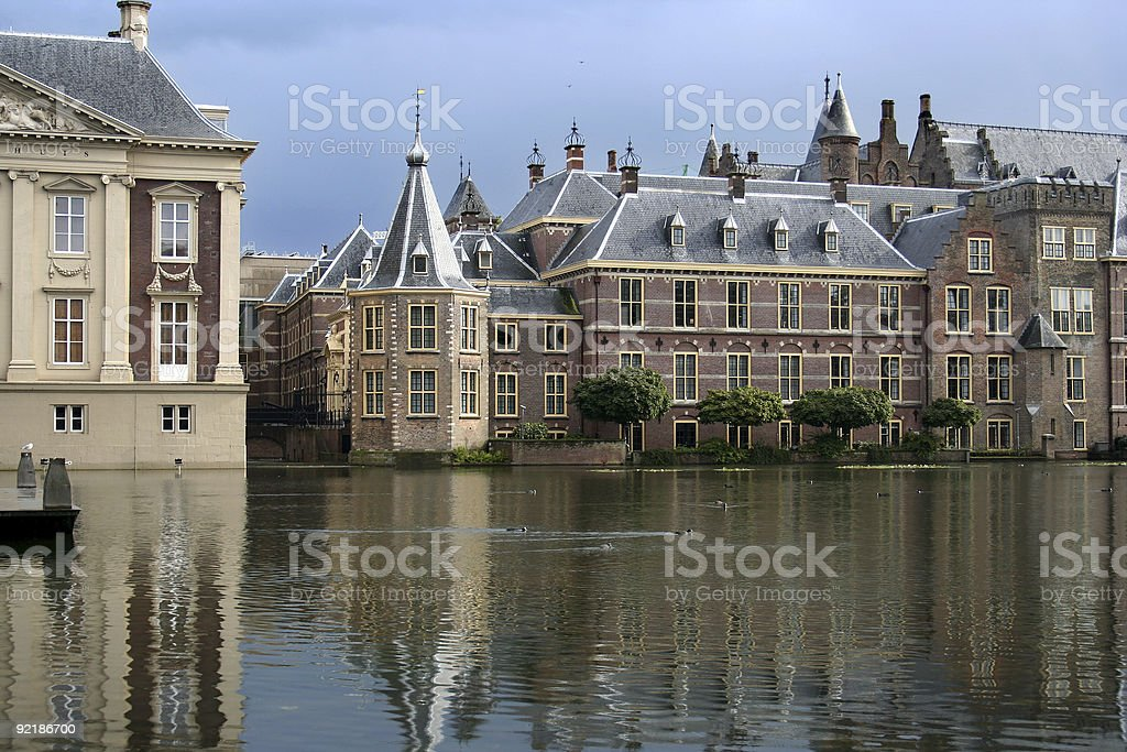Dutch Parliament royalty-free stock photo