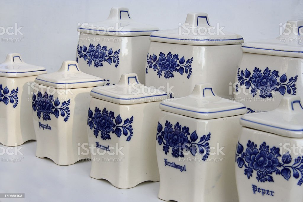 Dutch porcelain royalty-free stock photo