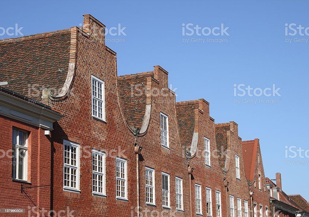 Dutch Quarter Potsdam royalty-free stock photo