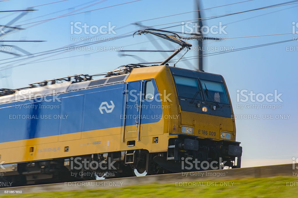 Dutch Railways Intercity Direct Locomotive stock photo