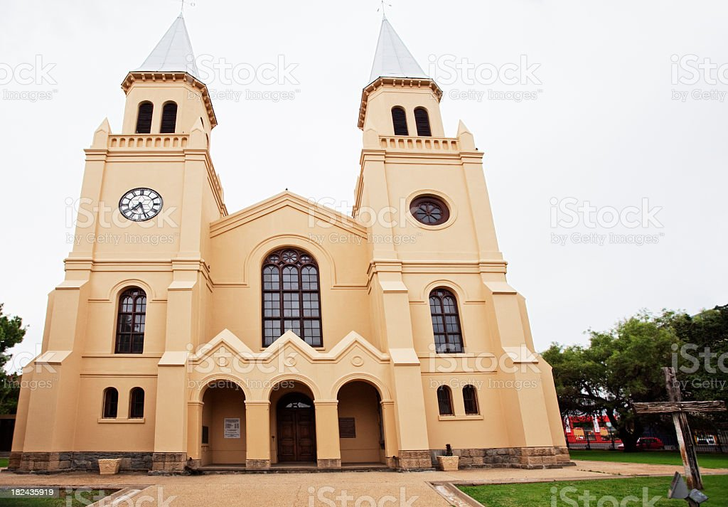Dutch Reformed Church in Bloemfontein stock photo