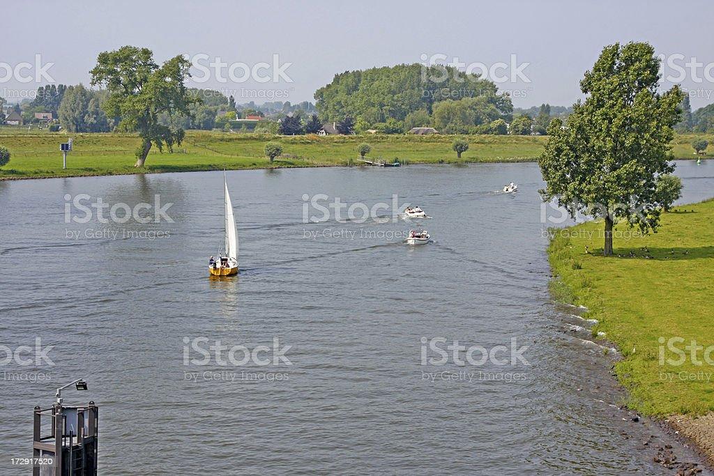 Dutch river Meuse # 2 XL stock photo