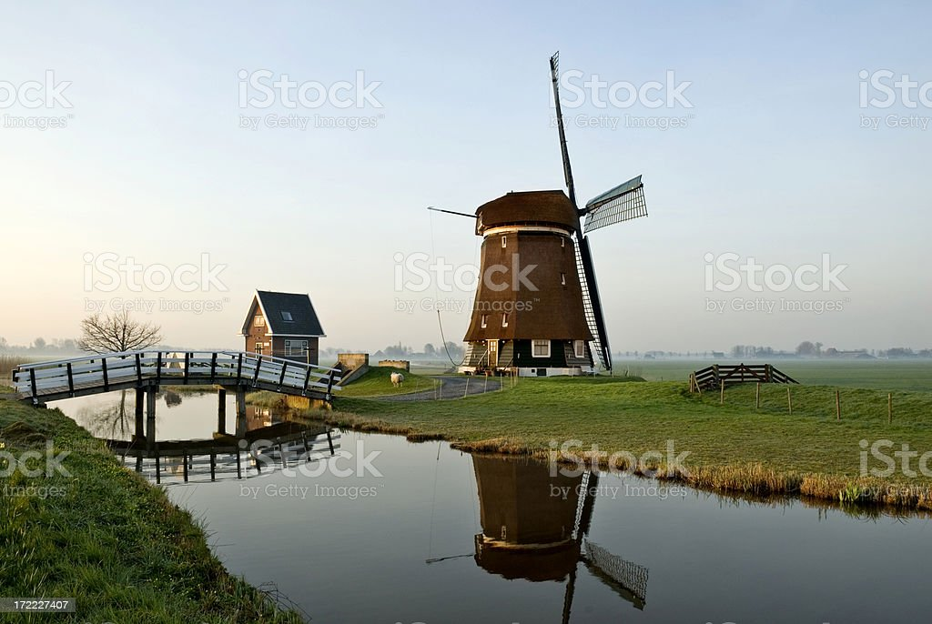 Dutch Scene royalty-free stock photo